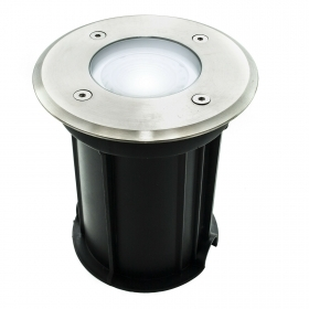 Spotlight carrabile walkable IP65 recessed ground lamp, led GU10 8W power 72W