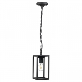 Pendant lamp, E27 LED lantern vintage light, garden, porch 12W filament