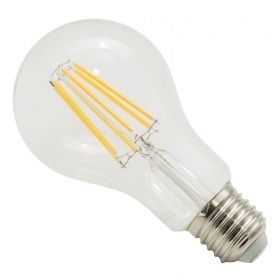 LED bulb E27 globe glass 12W lamp filament vintage 1500lm light spread