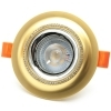 Classic downlight round recessed 75mm gold swarovski LED lamp 5W GU10 led made 50W