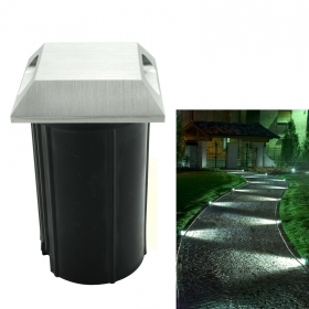 LED spotlight 3W walkable recessed ground double-side light path indicators IP65