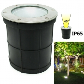 Spotlight floor lamp LED E27 12W recessed directed light SPOT garden IP65