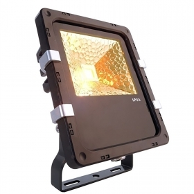 Lighthouse outdoor LED 10W spotlight bracket projector amber light garden IP65 110-240V