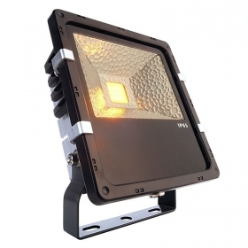 LED floodlight 30W bracket projector light amber orange 1700k garden IP65 110-240V