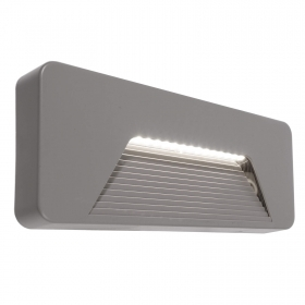 LED spotlight path light rectangular wall 2W of natural light garden IP65 230V