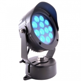 Lighthouse spotlight RGB color change LED light 25W 24v garden wall facades trees