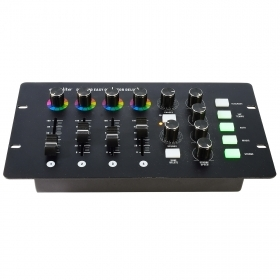 Eurolite DMX controller PRO 512 controller mixer effects LED lights 4CH 12 scenes