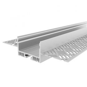 Aluminum profile, 3 m flush-mounted concealed wall ceiling plasterboard cut light LED strips