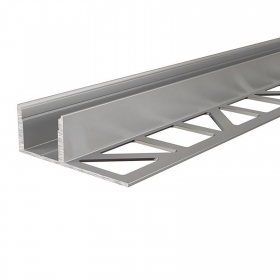 "Aluminum profile ""Celling Cove"" for the perimeter ceiling recessed plasterboard support led strips"