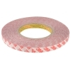 Coil adhesive double-sided tape 3M 50 metres resistant for profiles LED 10mm