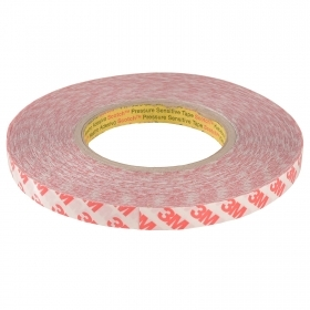 Adhesive tape for LED strips double-sided tape 3M reel 500cm profiles resistant 12mm