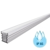 Aluminium profile 27mm walkable IP65 bar linear recessed concrete 2 meter LED strips