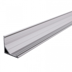 Angle profile aluminium profile LED strips, adhesive 2 metres light to the corners