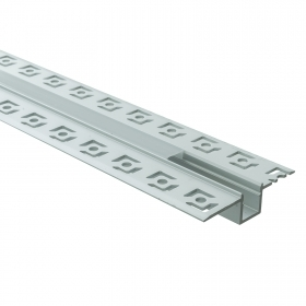 Aluminium profile 200cm recessed concealed wall ceiling aluminium profile LED strips