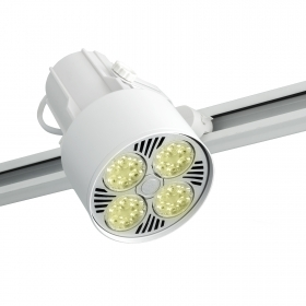 Spotlight track rail swivel E27 LED bulb lamp 35W yield 315W led spot light 3500lm
