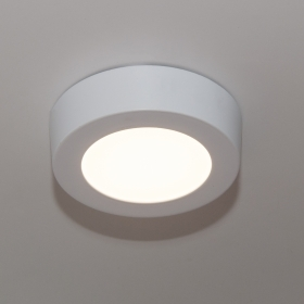 Lamp led surface-mounted luminaire fixing wall ceiling 6w warm light 3000k power 70w