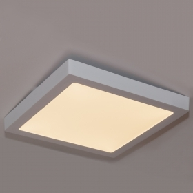 Ceiling lamp modern square 30X30cm LED 25w warm light 3000k power 250w 230v