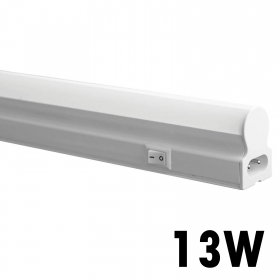 Led Neon t5 light fixture undercabinet 90cm 13w lamp reglette tube, natural light 4000k