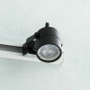 Spotlight track adjustable single-phase binary LED lamp spot 5W GU10 spot light showcase