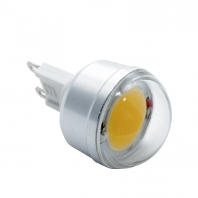 LED bulb power 3W G9 230 lumen yield 25W lamp warm 3000K 230V