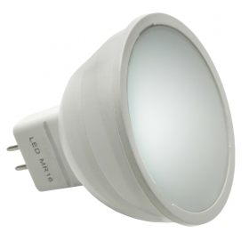 Light bulb LED spotlight GU5.3 MR16 6W yield 60w 175-265V 540 lumens of natural light