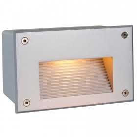 Spotlight segnapassi recessed rectangular LED G9 5W light outdoor garden IP65