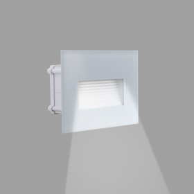 LED spotlight 4W segnapassi glass wall mount light vertical box 503 IP65