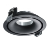 Portafaretto black collection 9cm led ceiling lighting support LED lamps GU10 GU5.3 MR16