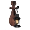 Applique LED light wall lantern vintage industrial metal lamp E27 12W
