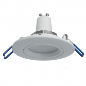 Spotlight adjustable white LED lamp 5W GU10 directed light spot recessed shop