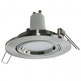 Spot light living room hall kitchen built-8cm grey round lamp LED 5W GU10