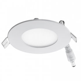 Panel, 3W led spotlight, with ultra silm white round recessed LED light, kitchen hood 80mm