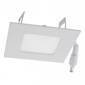 Spotlight mini recessed panel LED slim light 3W kitchen shop office hole 80mm