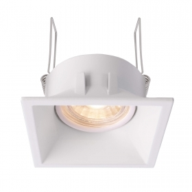 Led downlight led light ceiling square recessed modern 80mm white LED bulb lamp 8W GU10