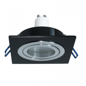 LED spotlight square recessed 80cm black light bulb LED spot light 5W GU10 lights showcases