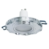 Spotlight modern round glass, mirrored, recessed, 60mm LED 8W GU10 light showcases
