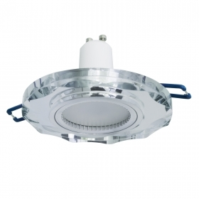 Spotlight modern round glass,