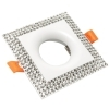White spotlight glitter collection modern square LED lamp 5W GU10 kitchen