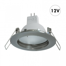 Spotlight recessed round LED 7W GU5.3 low voltage 12V led ceiling lighting boat rv