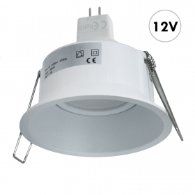 Spotlight round recessed moder