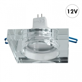 LED spotlight mirrored glass s