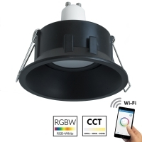 Projecteur noir led RGB wifi multi
