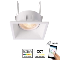Led downlight dimmable recessed squ