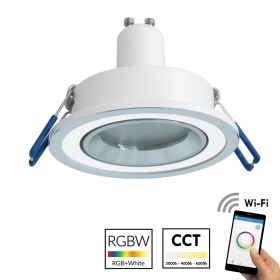 Spotlight, recessed, 70mm silv
