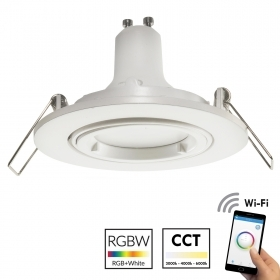 Spotlight WiFi round white rec