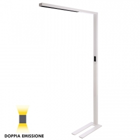 LED lamp, white floor lamp ear