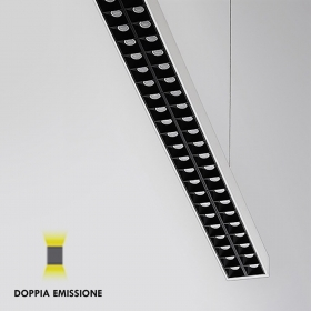 Lamp white suspension bar LED