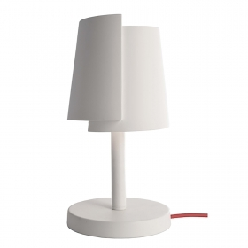 White lamp LED light table des