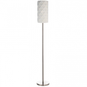 Floor lamp modern lamp, white floor 10W E27 LED light office living room 230V