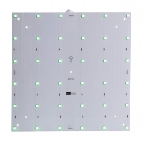 Plate modular LED RGB 9W color